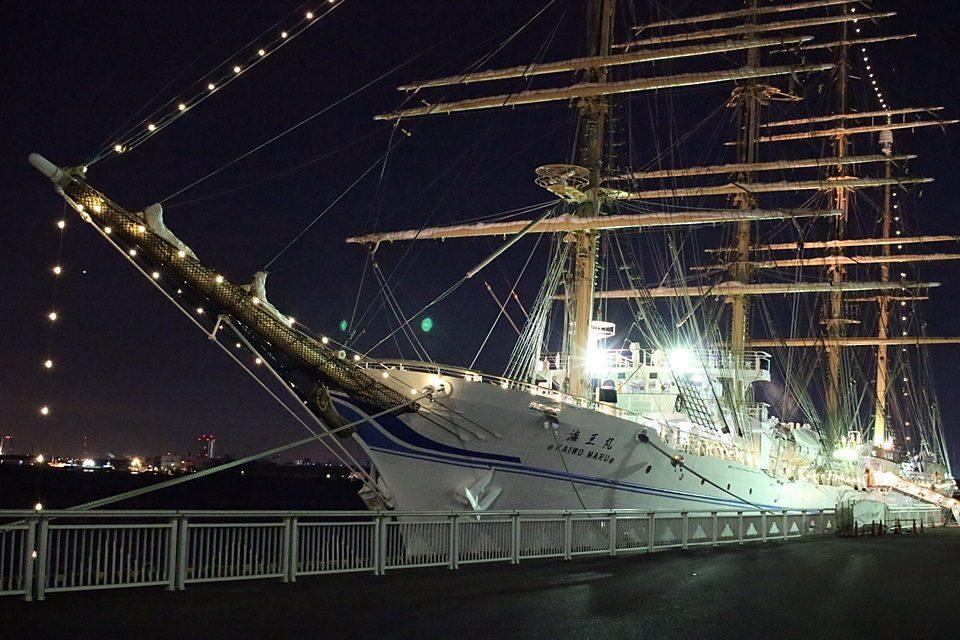 海王丸 船首方向より