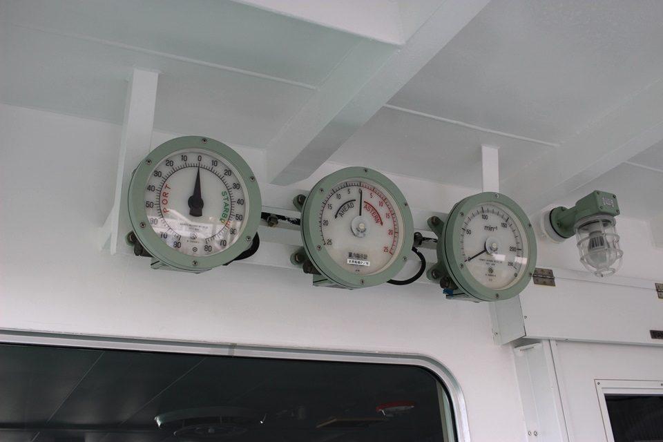大成丸 船側の計器