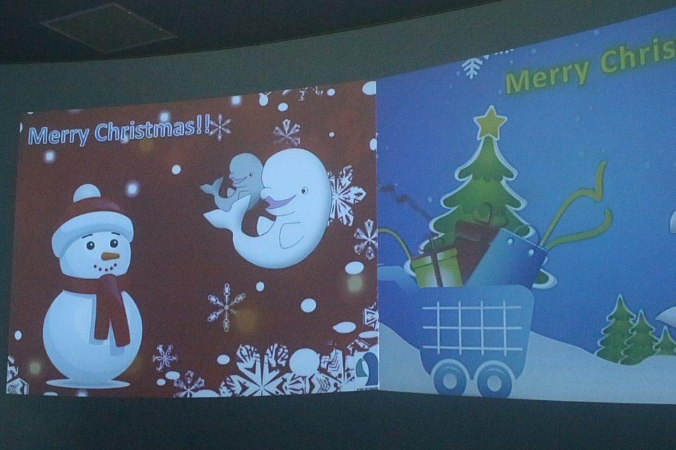 名古屋港水族館 クリスマス展示