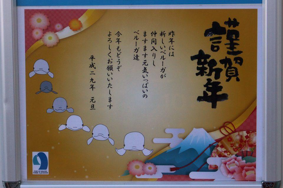 名古屋港水族館のお正月