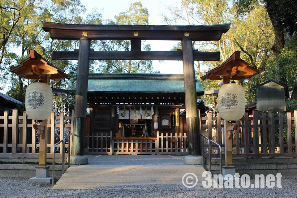 豊国神社 社殿