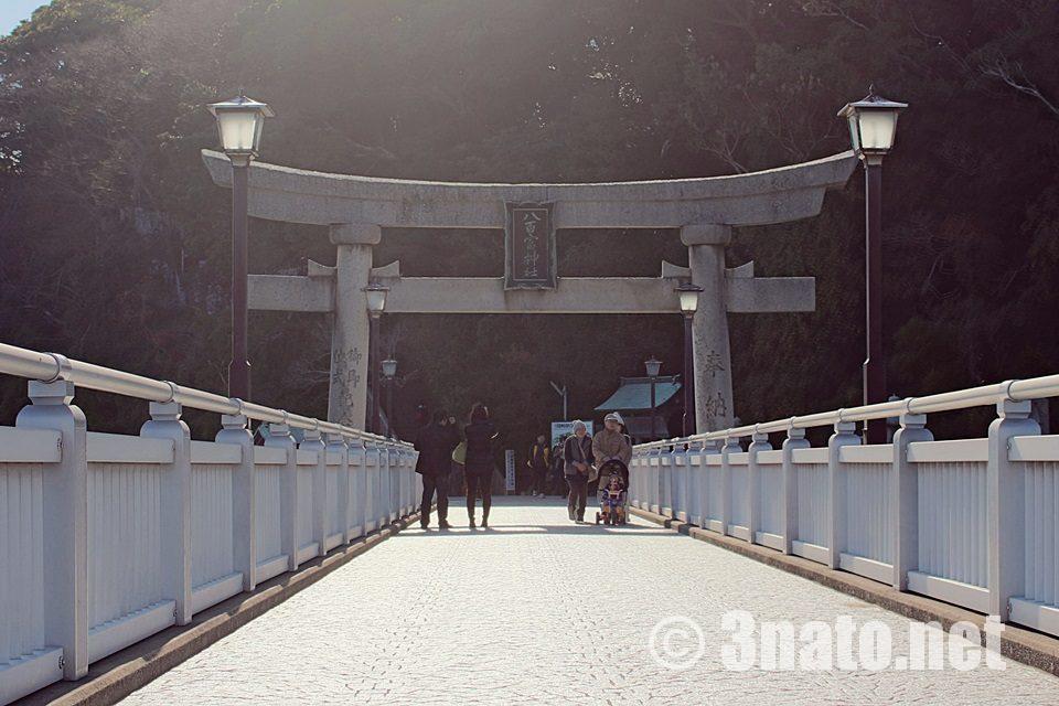 竹島入口の鳥居