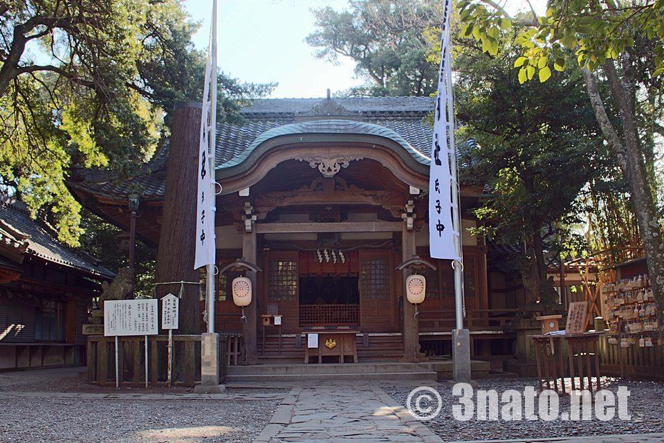 八百富神社 本殿
