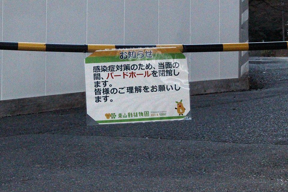 東山動物園 入場制限エリア