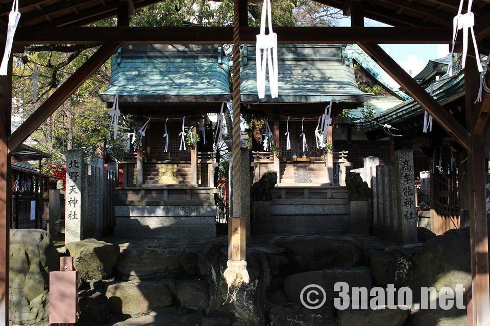 高牟神社(名古屋市千種区) 境内のお社