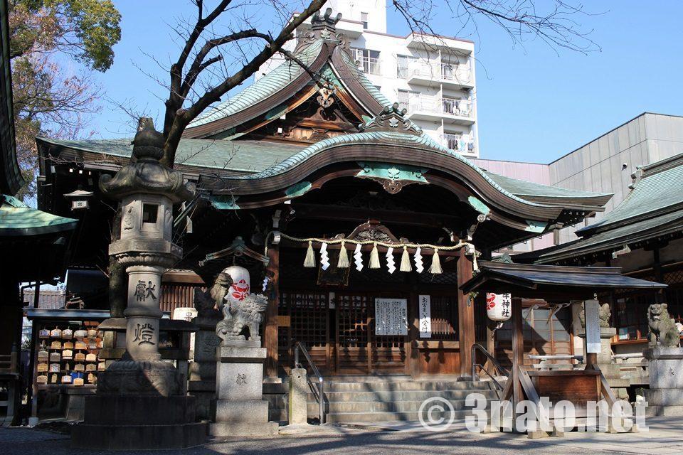 高牟神社(名古屋市千種区) 本殿