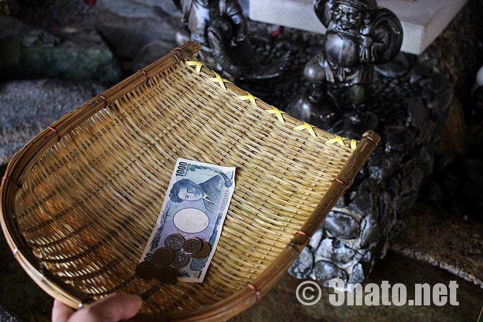 金神社(名古屋市北区) 銭洗い