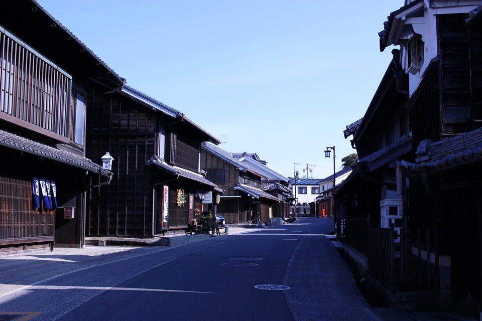東海道 有松の街並み