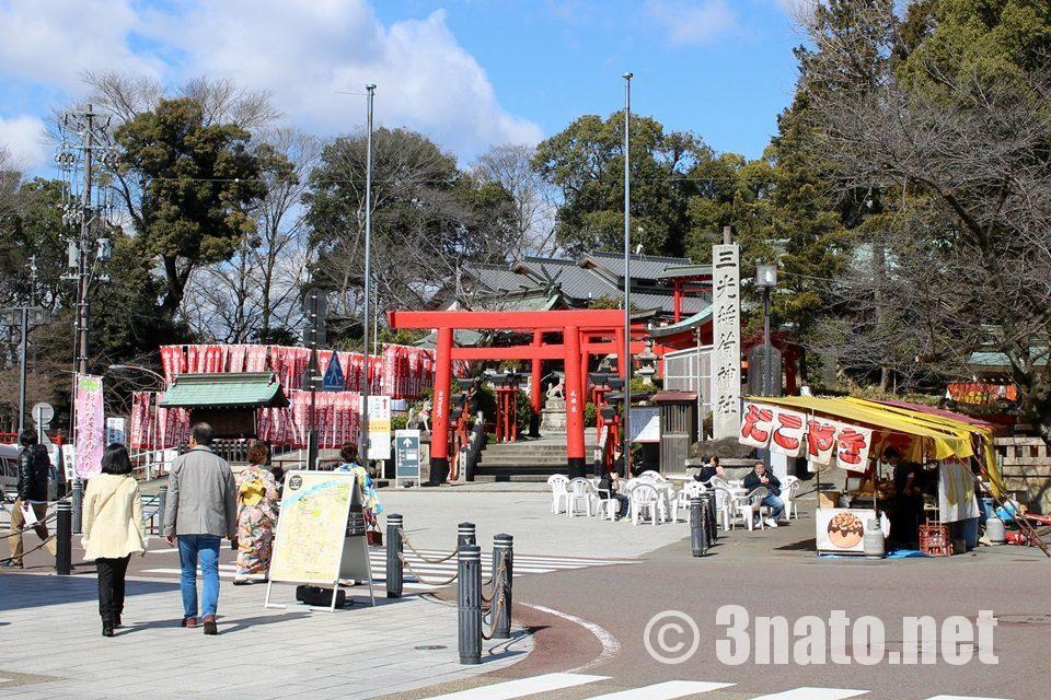 国宝犬山城下 三光稲荷神社