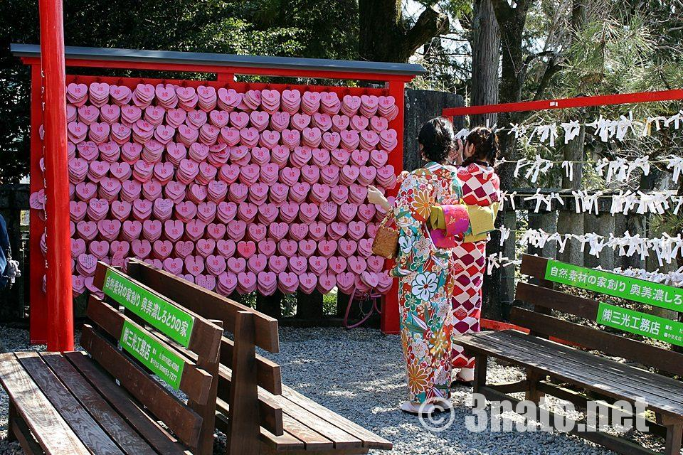 国宝犬山城下 三光稲荷神社の絵馬