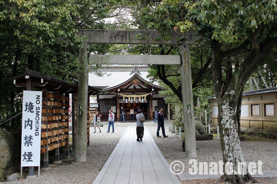 田縣神社 奥宮への参道