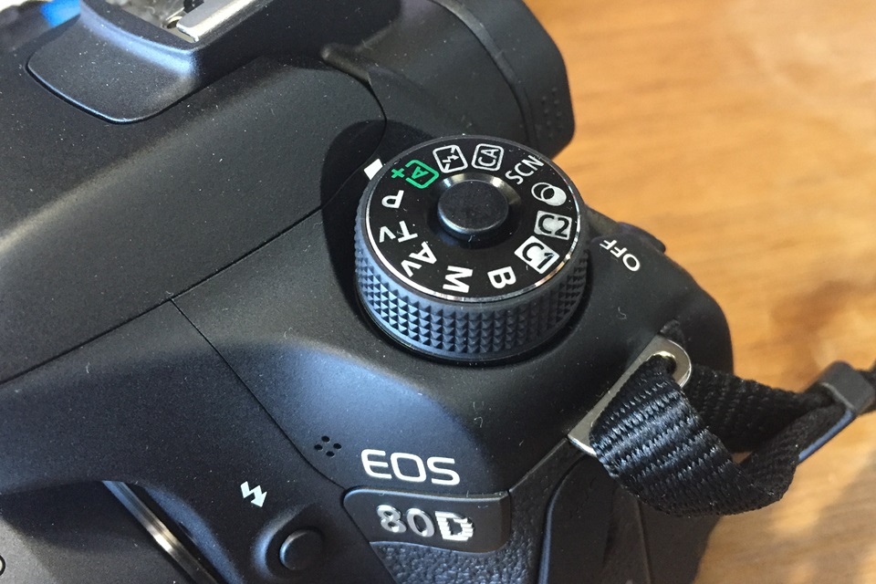 EOS 80D モードダイヤル