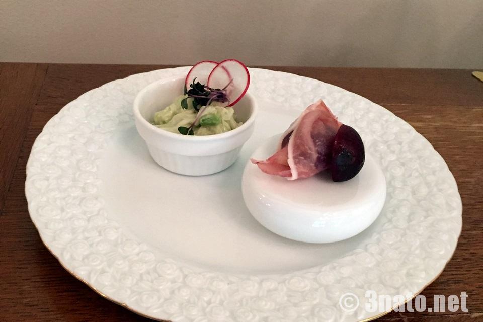 Cafe de Dolce / カフェ・ド・ドルチェ 前菜2種(岐阜県多治見市)