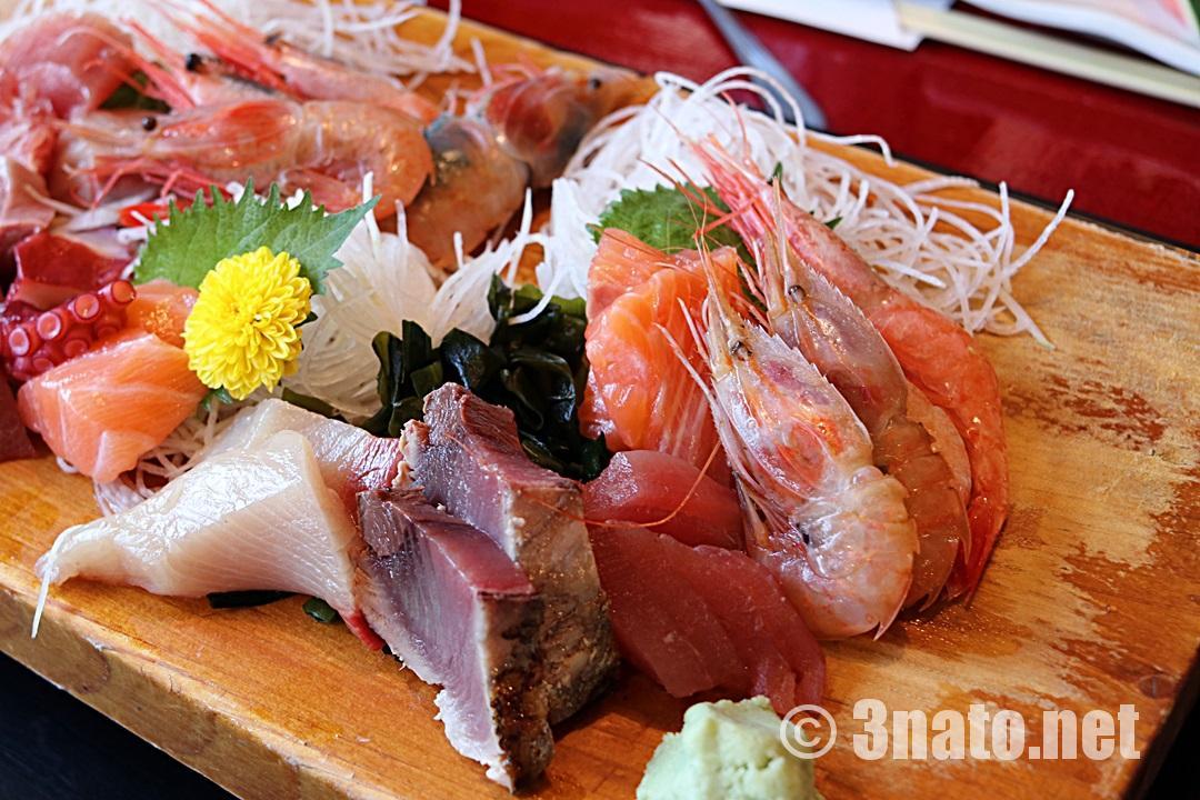 和食処山女魚の特製お刺身定食(蒲郡市)撮影日:2018/05/11