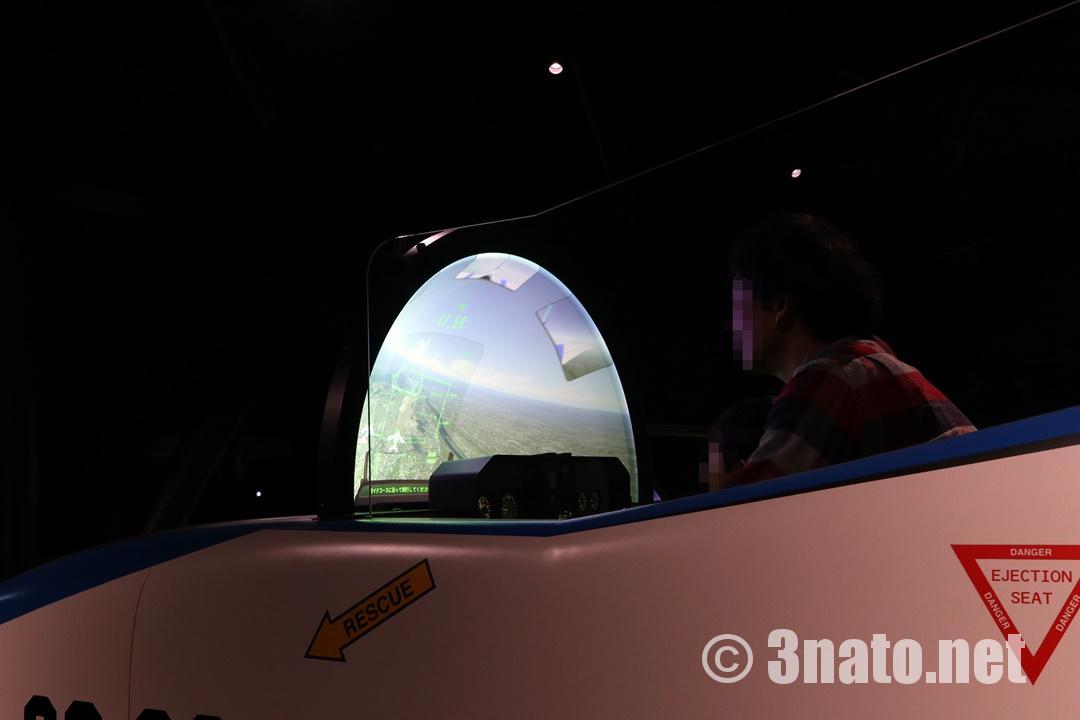 飛行シュミレーター(岐阜かかみがはら航空宇宙博物館)撮影日:2018/11/03
