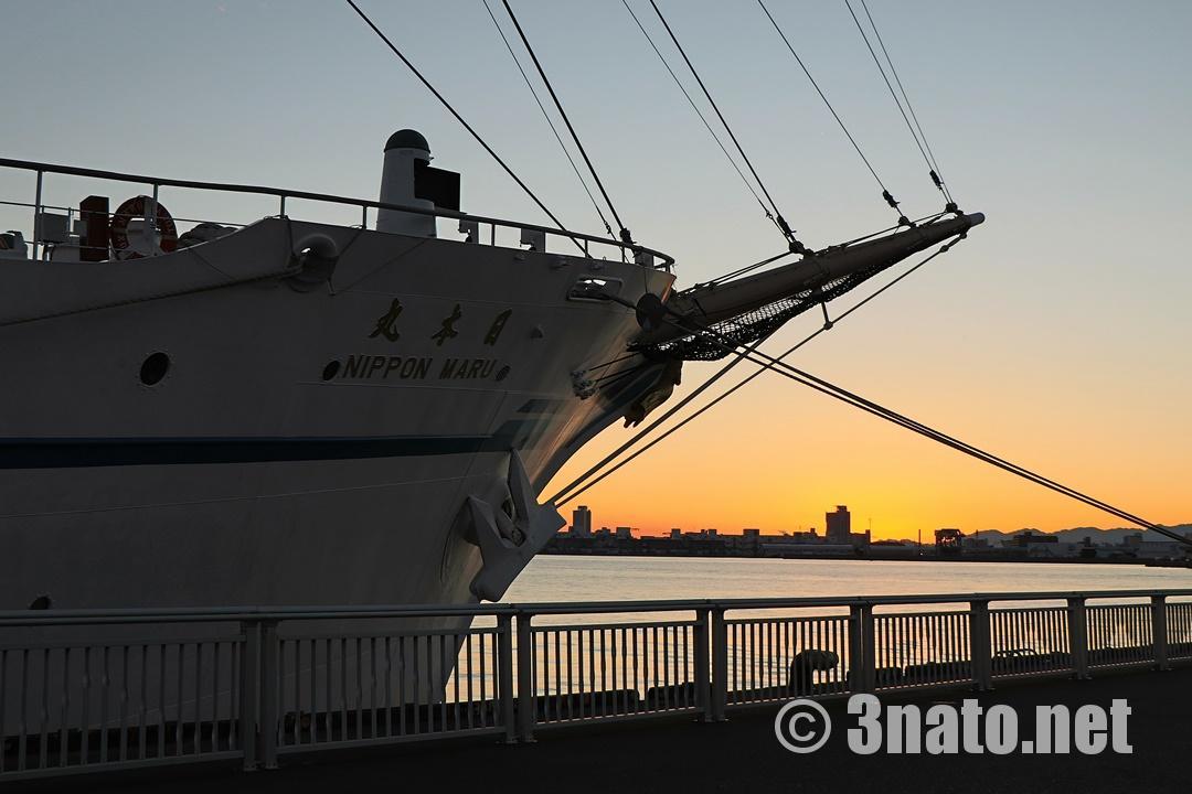 大型帆船日本丸(名古屋港ガーデンふ頭)撮影日:2018/11/24